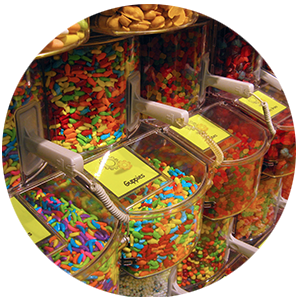 Bulk candy in Chicago