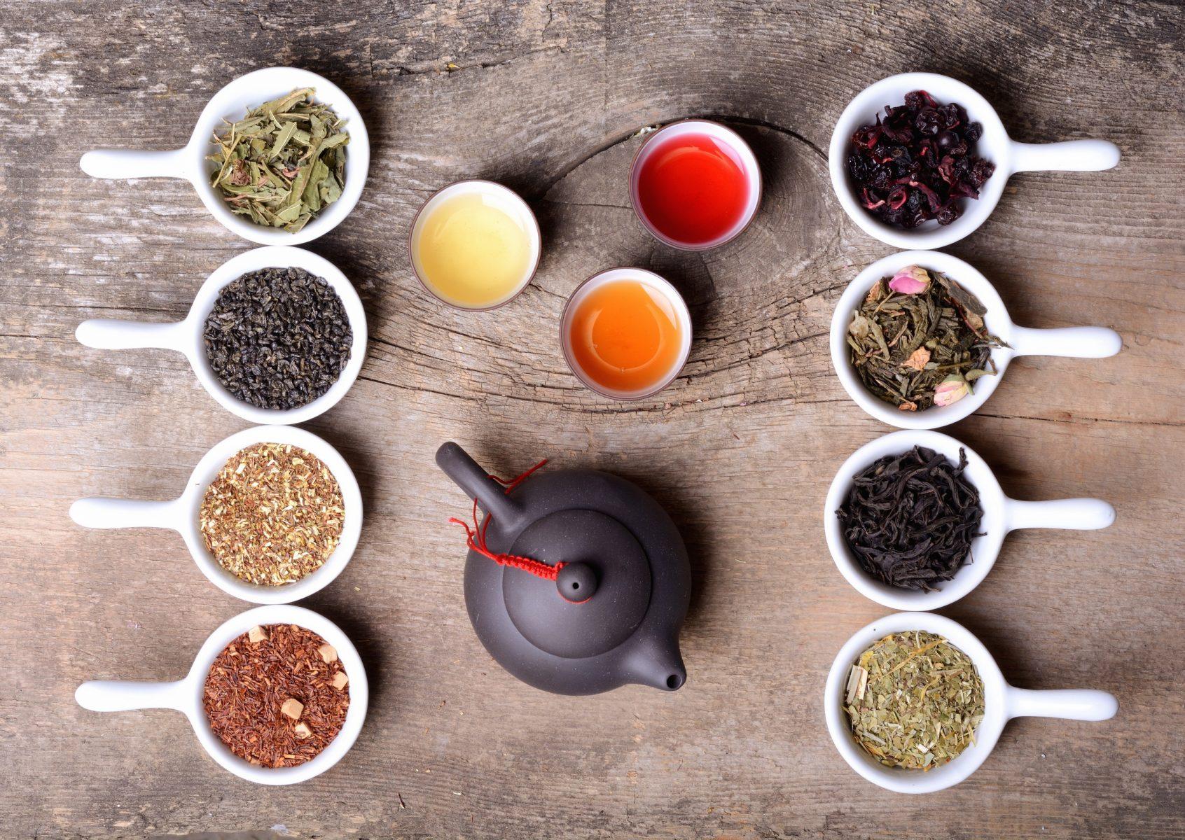 herbal tea in chicago break rooms